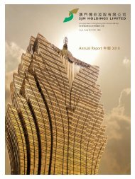 Annual Report 年報2010 - HKExnews