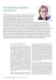 Cell signalling: regulation and function - IRB Barcelona