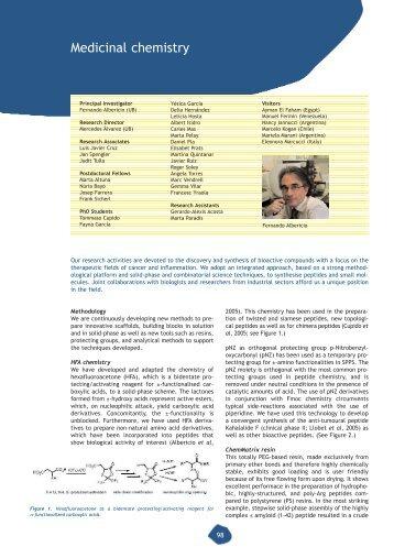 Medicinal chemistry - IRB Barcelona