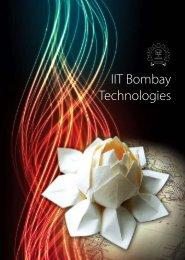 IRCC Booklet on IIT Bombay Technologies- December, 2011