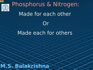 N bonds in phosphinoamines and aminobis (phosphines)