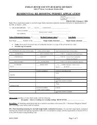 residential re-roofing permit application - Indian River County