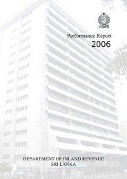 Performance Report 2006 - Department of Inland Revenue