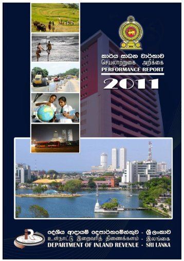 performance report of the commissioner general of inland revenue