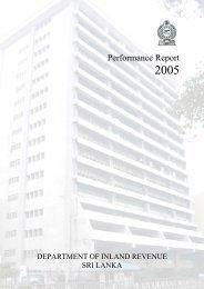 Performance Report 2005 - Department of Inland Revenue