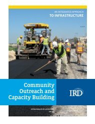 Community Outreach and Capacity Building - International Relief ...