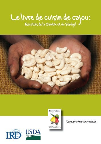 Le livre de cuisin de cajou: - International Relief & Development
