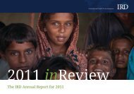 print version - International Relief & Development