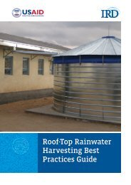 Roof-Top Rainwater Harvesting Best Practices Guide - International ...