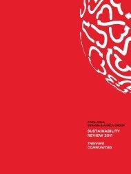 SUSTAINABILITY REVIEW 2011 - International Relief & Development