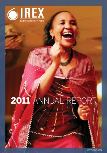 2011 ANNUAL REPORT - IREX