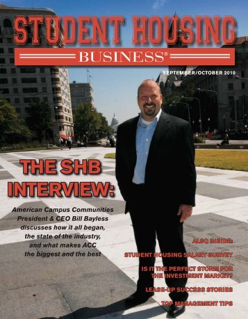 The Shb Interview: - American Campus Communities
