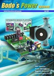 IGBT Modules Power Management Magnetic Materials ...