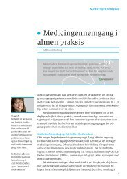 Medicingennemgang i almen praksis - Institut for Rationel ...