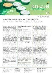 december 2008 - Institut for Rationel Farmakoterapi