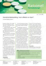 juli 2008 - Institut for Rationel Farmakoterapi