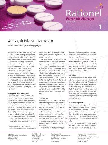 RationelFarm 1 2011 - Institut for Rationel Farmakoterapi