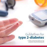 Guidelines for type 2-diabetes - Dansk Endokrinologisk Selskab