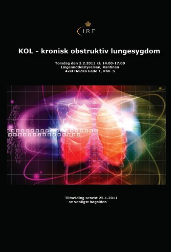 Program stormøde, KOL 2011 - Institut for Rationel Farmakoterapi