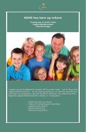 Hent programmet til efterårsmødet - Institut for Rationel Farmakoterapi
