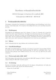 Verksamhetsberättelse 2006-2007 (PDF 25 kB) - Institutet för rymdfysik