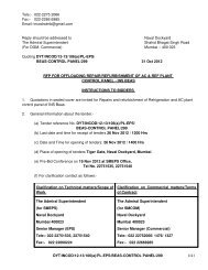 rfp for offloading of - Information Resource & Facilitation Centre ...