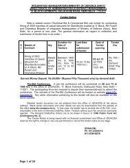 Tender Notice - Information Resource & Facilitation Centre, Indian ...