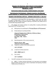 Request For Proposal - Information Resource & Facilitation Centre ...