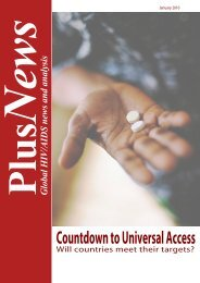Countdown to Universal Access - IRIN