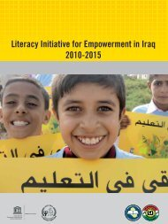 Literacy Initiative for Empowerment in Iraq 2010-2015 Literacy ... - IRIN