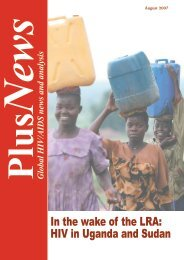 In the wake of the LRA: HIV in Uganda and Sudan - IRIN