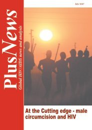 At the Cutting edge - male circumcision and HIV - IRIN