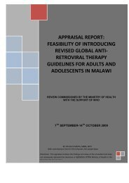 APPRAISAL REPORT: FEASIBILITY OF INTRODUCING ... - IRIN