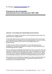 promotion for Transmediale 2000 - IRIS® Media