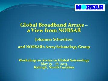 Global Broadband Arrays - IRIS
