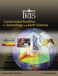 Download Accomplishments (12.5 Mb pdf) - IRIS
