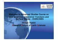 A brief overview of lectures and practical exercises - IRIS