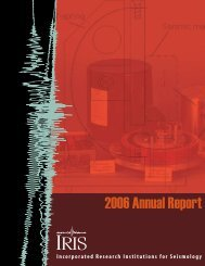 Download the 2006 Annual Report - IRIS
