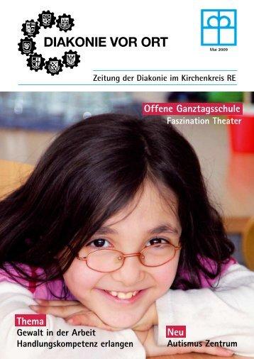 Zeitung der Diakonie im Kirchenkreis RE - Diakonisches Werk im ...