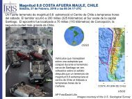 Magnitud 8.8 COSTA AFUERA MAULE, CHILE - IRIS