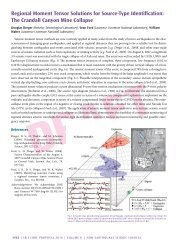 Regional Moment Tensor Solutions for Source-Type ... - IRIS