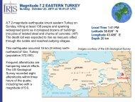 Magnitude 7.2 EASTERN TURKEY - IRIS