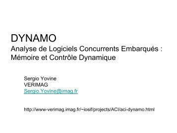 DYNAMO - Irisa
