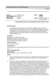 Prägende Wirkung einer Nutzung Bverwg, Beschl. v. 2.10