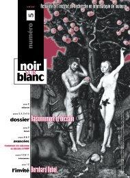 noir sur blanc, n°5, juin 2002 - IRIT
