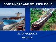 Container - Indian Railways Institute of Transport Management