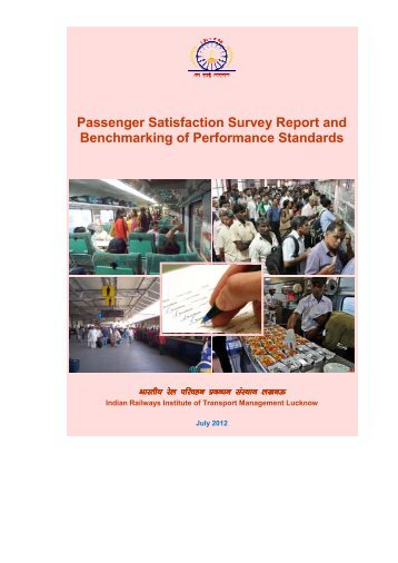 Passenger Satisfaction Survey Report and Benchmarking of ...