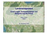 Landmanagement!