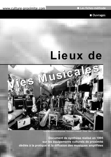 Lieux de vies musicales 236.2 ko - Association Opale - Culture ...