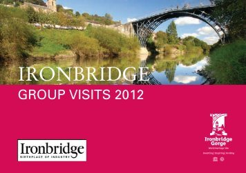 20.00 per person - Ironbridge Gorge Museum